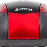 Мышь A4 V-Track Padless N-400-2 Red/Black